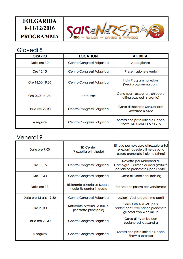 Programma Salsenergydays Folgarida 2016-1